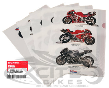 HONDA/HRC - Works Machine - Clear file (5 piece set) 82046-N99-000