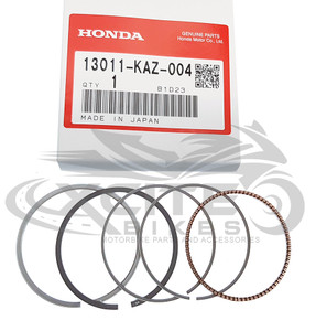 Genuine Honda Piston Ring set 4 x 13011-KAZ-004