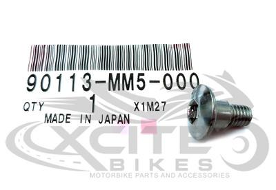 Set of Genuine Honda fairing bolts 6x14 90113-MM5-000