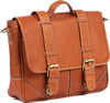 Claire Chase Laredo Messenger Bag Saddle