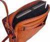 David King 3/4 Flap Messenger Bag 156 Inside
