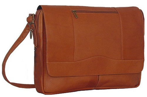 David King 3/4 Flap Messenger Bag 156