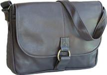 David King East/West 1/2 Flap Messenger Bag