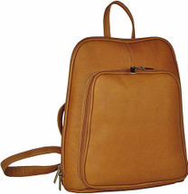 David King Women's Mid Size Leather Backpack
