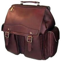 David King Jumbo Leather Backpack