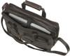 Edmond Leather Expandable Business Briefcase 291 Laptop