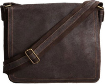 Edmond Leather Vintage Messenger Bag (Small) 7222