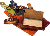 Floto Leather Luggage Tag