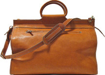 Floto Parma Traveler Tote Leather Duffle Bag