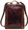 Floto Milano Pack Leather Backpack Brown