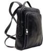 Floto Milano Pack Leather Backpack Black