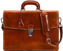 Floto Milano Briefcase (Olive)