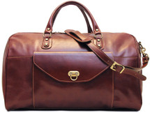 Floto Monteverde Duffle Bag Brown