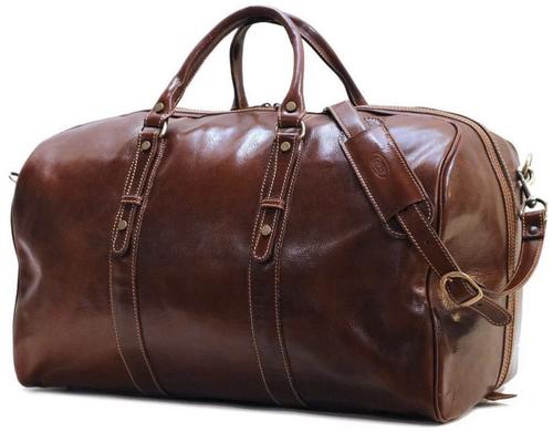 Floto Venezia Grande Leather Duffle Bag 18G