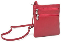 Le Donne Two Zip Mini Crossbody Bag T76