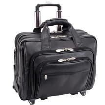 McKlein Gold Coast Wheeled Leather Briefcase 43185