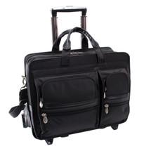 McKlein Clinton Wheeled Briefcase 58445