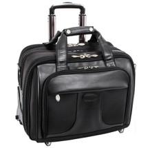 McKlein Chicago Wheeled Briefcase 7358