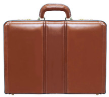 McKlein Daley Leather Attache Case (Brown)