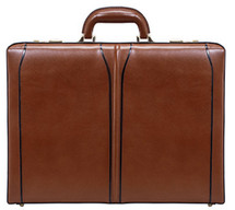 McKlein Lawson Leather Attache Case (Brown)