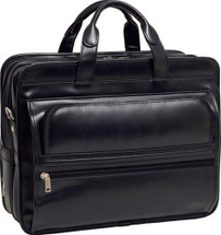 McKlein Elston Leather Business Briefcase
