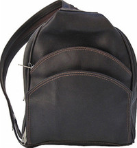 Piel Leather Backpack Sling Chocolate