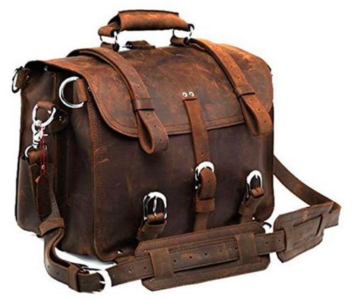 Pratt Leather Randall Dispatch Bag