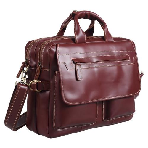 Pratt Leather Italian Collection Executive Satchel