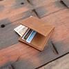 Pratt Leather Vintage Leather Billfold Wallet (Lifestyle)