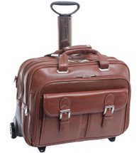 Siamod Ceresola Italian Leather Fly-Through Wheeled Case 4600