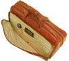 Floto Milano Trolley Small Italian Leather Wheeled Travel Bag Compartments