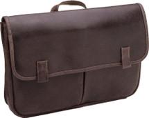 Le Donne Koa Distressed Leather Messenger Bag DS9838