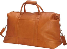 Edmond Leather Deluxe Weekender Duffle Bag D261