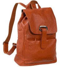 Amerileather Miles Backpack Brown