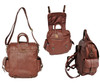Amerileather Three Way Backpack 1516 Group