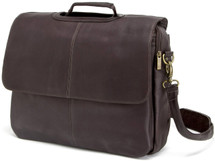 Edmond Leather Deluxe Executive Briefcase (Chocolate)