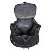 Amerileather Jumbo Leather Backpack 1518 - Black1