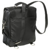 Amerileather Laptop Backpack Briefcase 2437 - Black1