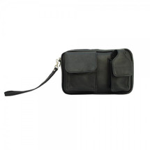Piel Leather Carry-All Bag 2283 - Black