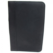 Piel Legal-Size Open Padfolio 2511 - Black