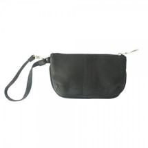 Piel Leather Ladies Wristlet 2597 - Black