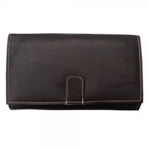 Piel Leather Deluxe Ladies Wallet 2600 - Chocolate