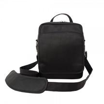 Piel Leather Traveler's Carry-All Bag 2630 - Black