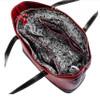 McKlein Serafina Leather Shoulder Tote 9756 Open