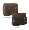 Amerileather Vintage Flapover Messenger Colors