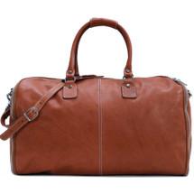 Floto Parma Edition Leather Garment Duffle Bag