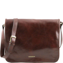 Tuscany Leather TL Leather Messenger Bag (Large)