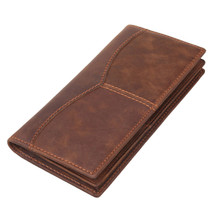 Pratt Leather Vintage Leather Long Wallet