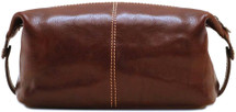 Buccio Italian Leather Toiletry Bag