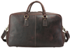 Pratt Leather Duffle Bag With Shoe Compartment
